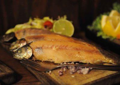 Nyrökt fisk